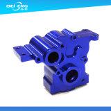 Подвергать механической обработке CNC латуни изготовления частей изготовленный на заказ точности черный анодировать цвета филируя