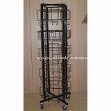 Rack de calendrier en fil métallique pour plancher (PHY389)