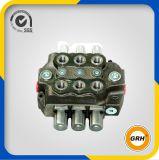 1 válvula de controle direcional múltipla hidráulica do punho da válvula da alavanca de controle do carretel