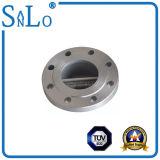 Válvula de verificação dobro da bolacha do disco com tipo H76 de escudo do forjamento