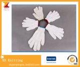 Перчатки дешевой хлопчатобумажной пряжи 10-Pin защитные для работы
