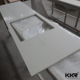 De fabrikant paste de Kunstmatige Hoogste Keuken Counertop van de Bank van de Steen aan