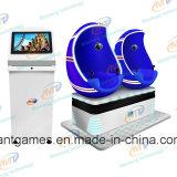 Simulador del cine del juego 9d de la diversión de Vr de los asientos de la realidad virtual 2 de la calidad del precio de fábrica el mejor con los vidrios 3D