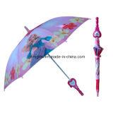 Logo personnalisé Rain Umbrella Cheap Promotional Kids's Umbrella