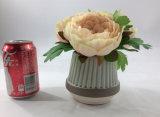 Alta decoración de la botella de las flores artificiales