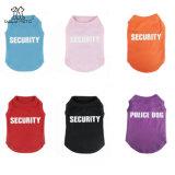 Vêtements d'été de chemise de crabot de garantie pour des crabots de teeshirts d'animal familier