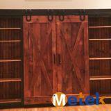 Входные двери деревенского цены типа самого лучшего деревянные сползая двери амбара