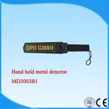Detetor de metais à mão MD3003b1 ISO/Ce