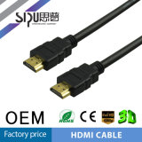 Ethernet plaqué d'or de supports du câble 2.0 à grande vitesse de Sipu HDMI