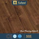 La noix de la vente en gros 12.3mm E0 AC4 V-Grooved imperméabilisent le plancher en bois en stratifié
