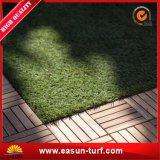 Monofilamento de hilo de hierba artificial cerca del jardín para el jardín