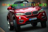 BMW-Wein-rote Farbe scherzt Spielzeug-elektrische Fahrt auf Auto