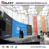 Alto schermo di visualizzazione dell'interno locativo della parete di Resoluiton LED video per gli eventi della fase
