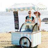 Итальянские вагонетки мороженного/тележки Gelato (одобренный CE)