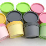 Fertigung farbiges kosmetisches verpackendes Plastikglas und Flasche (NJ106)