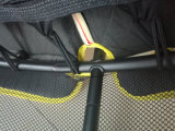 Порошок Techtop покрывая миниый Trampoline с сетями безопасности для малышей