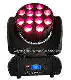 12 10W bewegliche Ereignis-Partei-Beleuchtung des Kopf-LED