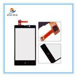 Передвижной экран касания LCD сотового телефона для Nokia Lumia 820 стеклянных частей цифрователя N820