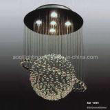Lampe en cristal ronde lumineuse de plafond (AQ-1009)