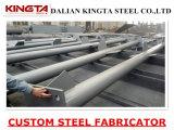 Estructura de acero prefabricada modificada para requisitos particulares que construye el edificio de acero del almacén del taller de la fábrica del bajo costo