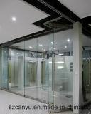 합리적인 가격 알루미늄 젖빛 유리 사무실 분할