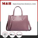 本革の携帯用ピンクの女性のハンド・バッグ
