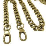 Chaîne en métal d'or pour des sacs