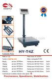 Báscula de mesa de pesaje electrónico con indicador de plástico grande