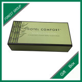 Bamboo Green Color Printing Flat Pack Boîte cadeau
