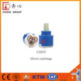 Sedal 35mm Cartucho de disco cerâmico, cartucho de válvula de disco de cerâmica substituição único punho torneira