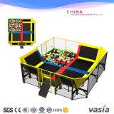 Parque interno do Trampoline das crianças para a venda