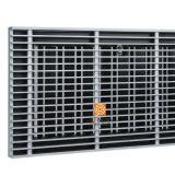 El buen registro del suelo de la rigidez cubre el difusor del acondicionador de aire