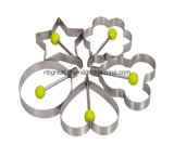 Eco-Friendly Non-Stick яичко нержавеющей стали жаря кольцо