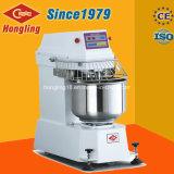 Luxo 260L misturador de massa de pão espiral de 100 quilogramas no equipamento do cozimento