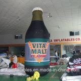 Реклама использовала полностью напечатанную раздувную бутылку Шампань с хорошим ценой