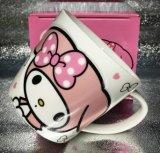 Tazza di ceramica di Chilrdren con il coperchio animale