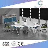 Bureau van uitstekende kwaliteit 4 het Werkstation van Zetels met Verdeling