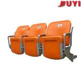 Chaise au stade muraux en plastique pliable pour stade de gymnastique.
