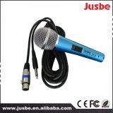 Conferencia del canto del cable de alambre de la fuente de alimentación del OEM modificado para requisitos particulares 48V Panton del color/de la insignia micrófono cardi3odico vocal