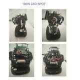 단계를 위한 최고 소형 100W LED 반점 이동하는 맨 위 빛