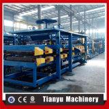 ENV ou chaîne de production de panneau de toit de sandwich à laines de roche prix de machine fabriqué en Chine