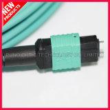 Kabels van de Boomstam MPO van de Vezel van Aqua 12F de Optische OM3