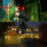 IP65 extérieurs en gros imperméabilisent le projecteur léger de laser de lumières de Noël d'elfe de lumière laser d'horizontal vert rouge extérieur de projecteur