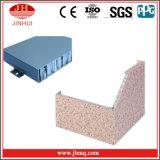 Panneaux de revêtement en aluminium graines en bois/de marbre pour la cloison de séparation