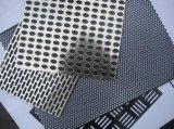 La maille perforée en métal d'acier inoxydable/a percé le gril de haut-parleur de maille en métal