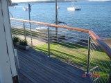 De Leuning van /Cable Railling/van het Balkon van het roestvrij staal