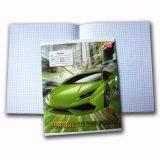 Caderno barato personalizado do livro de exercício do estudante do livro de nota da escola da qualidade superior
