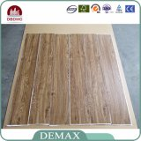 Plancher à haute brillance magnifique garanti de vinyle de planche large de qualité de prix usine