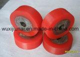 Колеса роликов покрытия полиуретана PU красного цвета масла упорные промышленные/колеса полиуретана