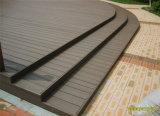 Decking compuesto plástico de madera cómodo de 135X23 Eco de los productos de WPC